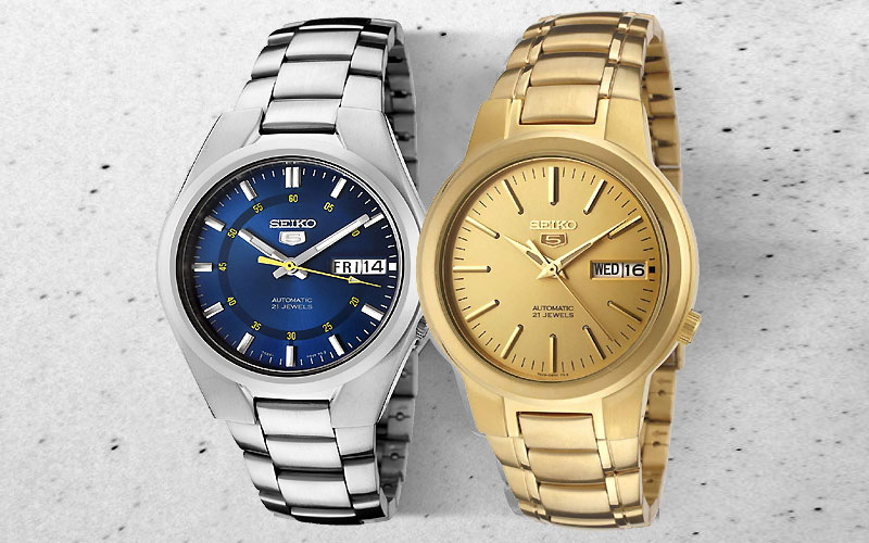 Up to 75% Off on Authentic Seiko Watches