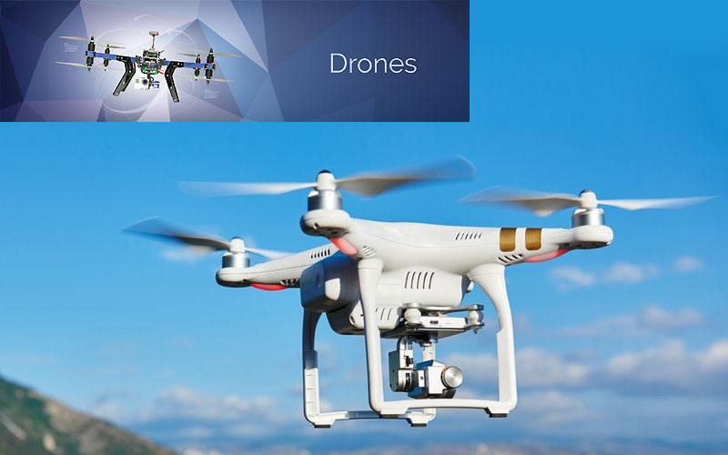 Up to 70% Off on Drones & Quadcopters with Cameras