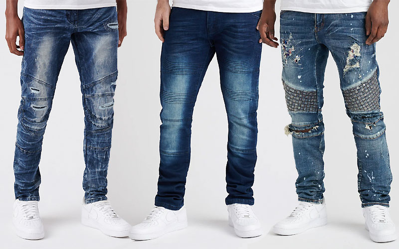 Up to 70% Off on Men's Denim Jeans