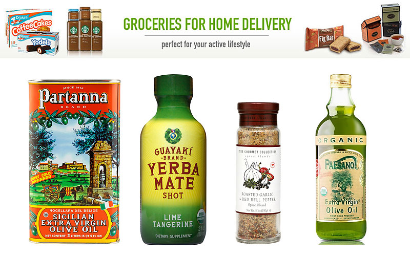 Shop Variety of Grocery for Home Delivery Starting from $4.99