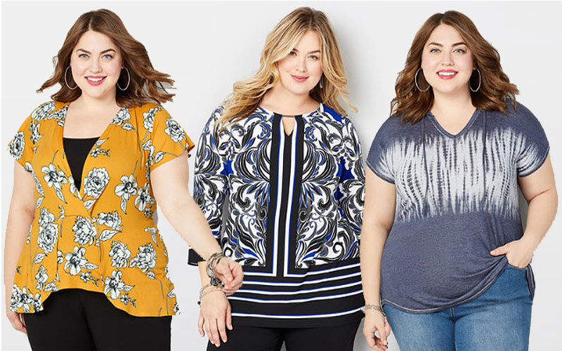 Up to 40% Off on Women's Plus Size Clothing New Arrivals