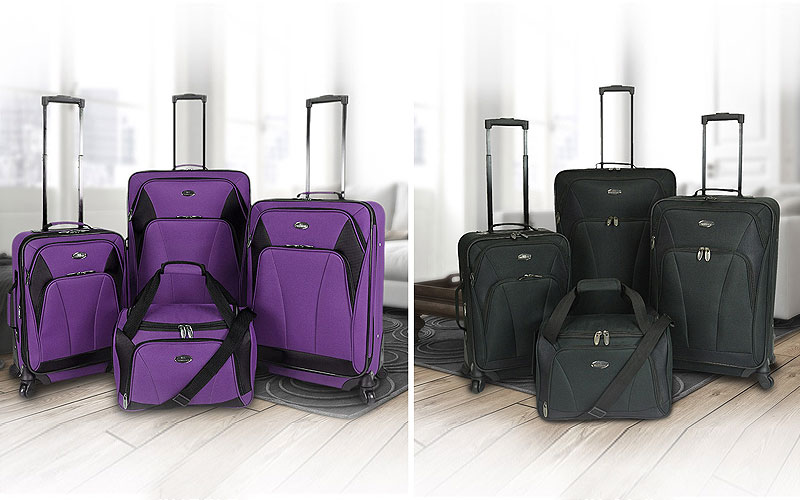 Up to 70% Off on Luxury Luggage Sets