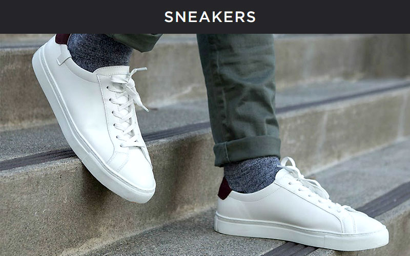 Up to 75% Off on Men's Sneakers