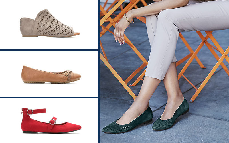 Up to 50% Off on Women's Flats