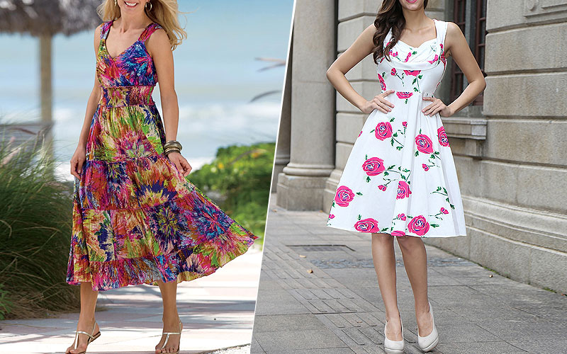 Up to 80% Off on Women's Summer Dresses