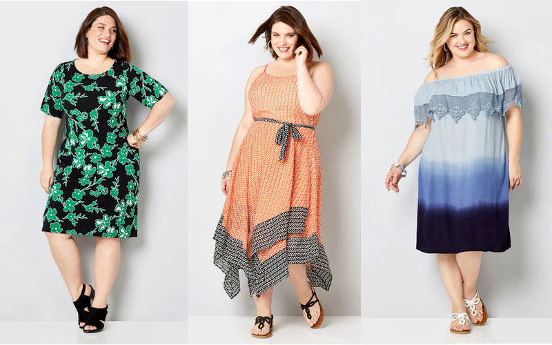 Women's Plus Size Jumpsuits & Dresses Starting from $60 Only