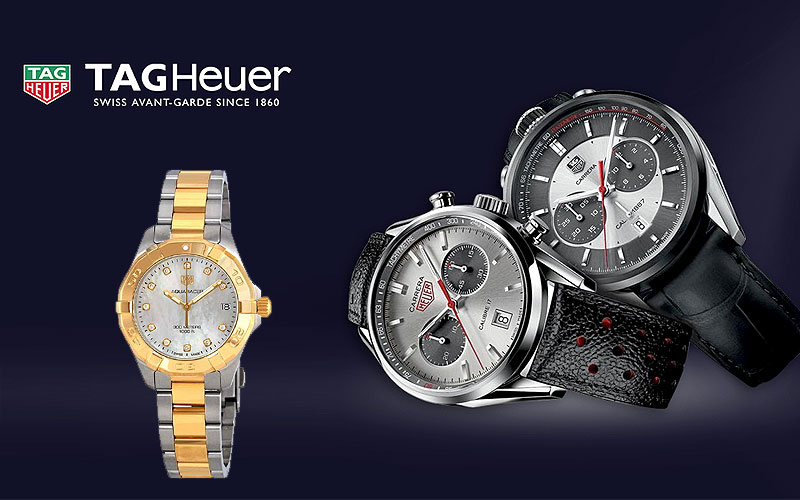 Up to 35% Off on Tag Heuer Watches