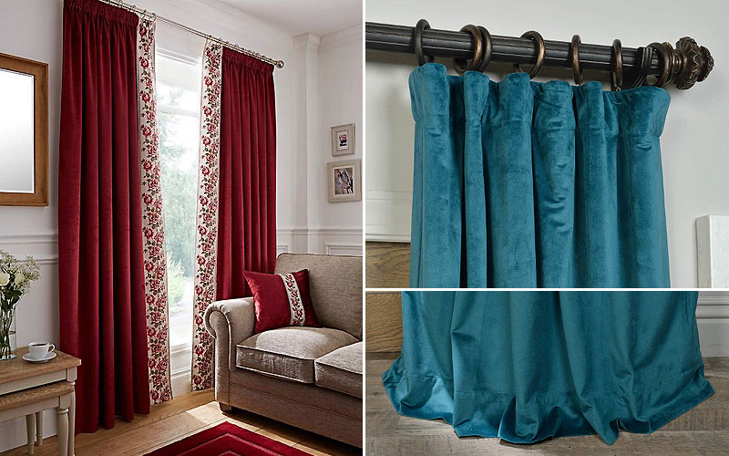 Up to 65% Off on Velvet Curtains