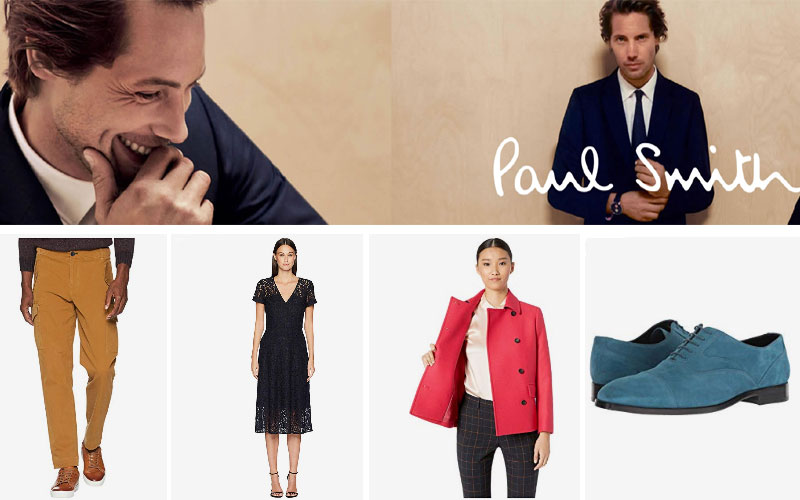 Up to 80% Off on Paul Smith Clothing & Shoes