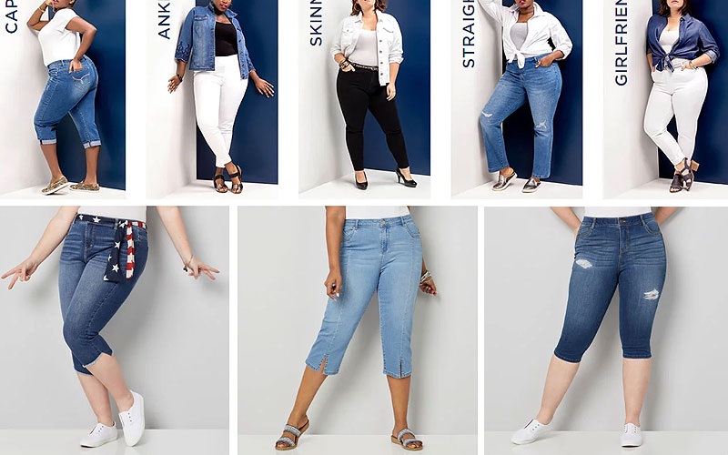 Up to 60% Off on Women's Plus Size Jeans Starting from $24 Only