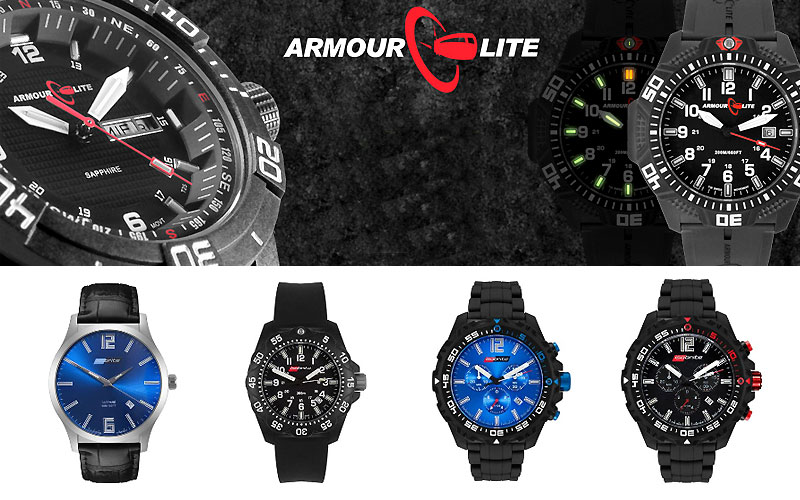 Up to 40% Off on ArmourLite Watches