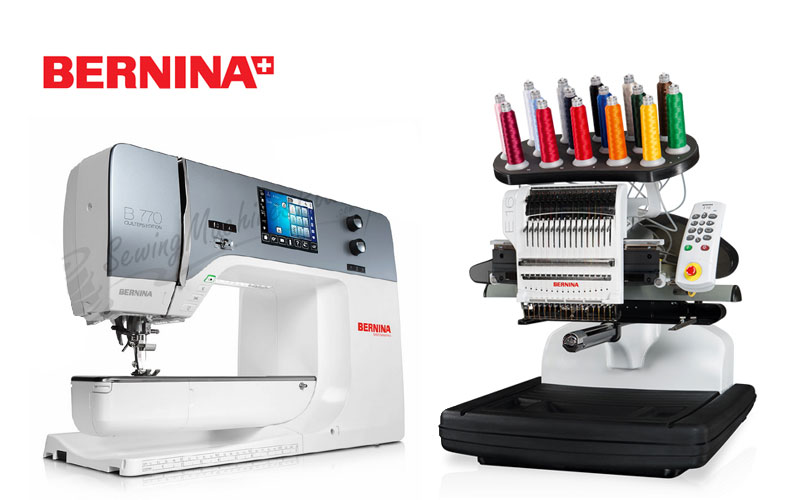 Up to 50% Off on Bernina Sewing Machines