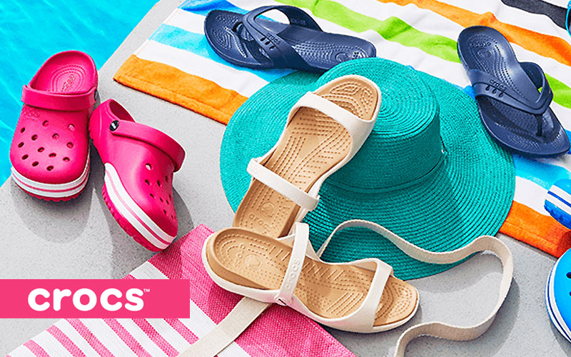 Up to 45% Off on Crocs Shoes for Kids