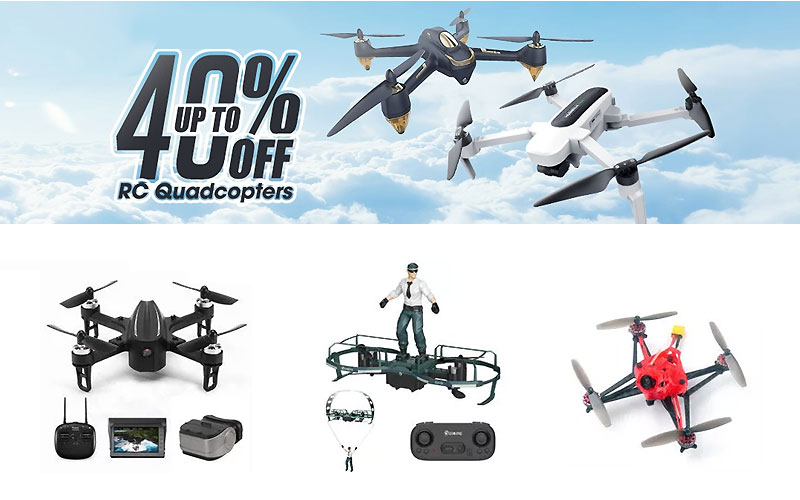 Up to 40% Off on RC Drones