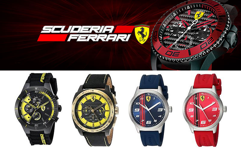 Up to 75% Off on Ferrari Watches