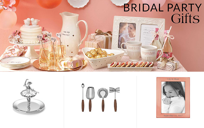 UP to 40% Off on Bridal Party Gifts