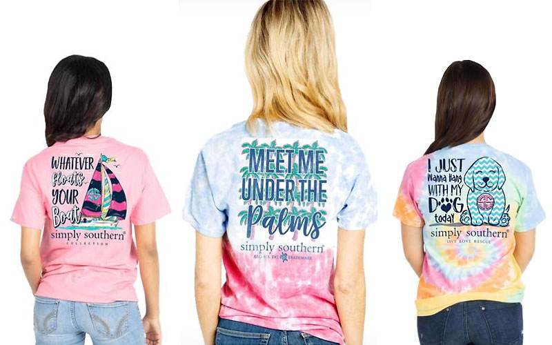 Simply Southern Women's T-Shirts as Low as $15.99