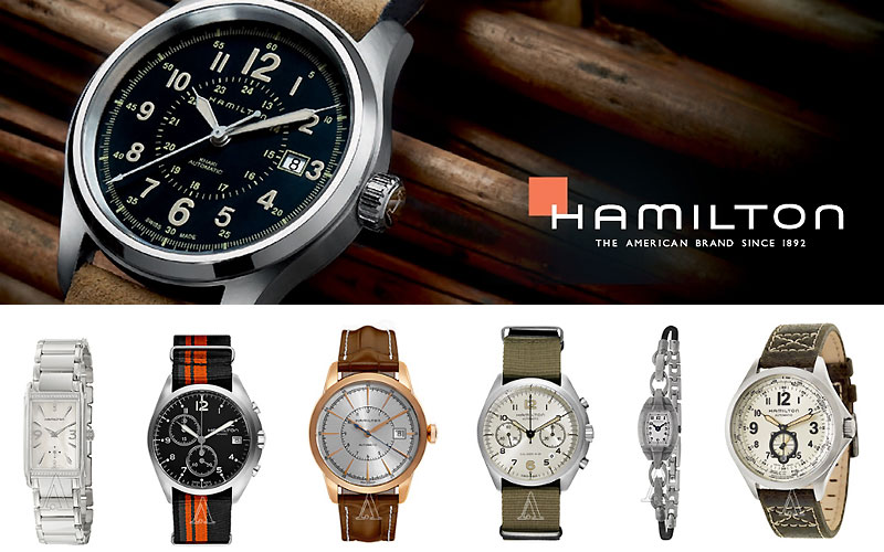 Up to 55% Off on Best Hamilton Watches