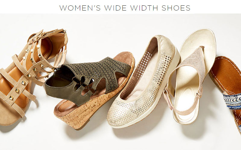 Up to 40% Off on Womens Plus Size Shoes & Sandals