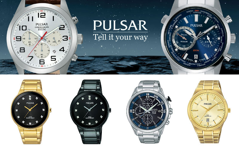 Up to 40% Off on Pulsar Watches