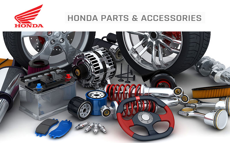Up to 25% Off on Honda Parts & Accessories