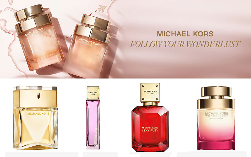 Up to 40% Off on Michael Kors Women's Perfumes