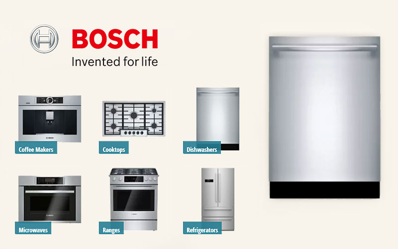 Bosch Home Appliances Starting from $649