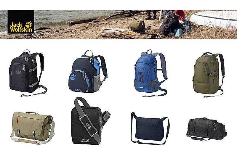 Up to 60% Off on Jack Wolfskin Bags & Backpacks