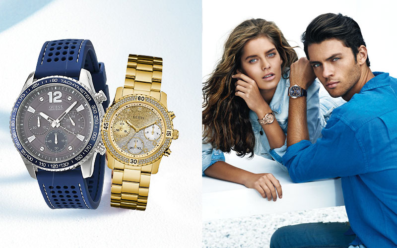 Up to 50% Off on Guess Watches for Men & Women