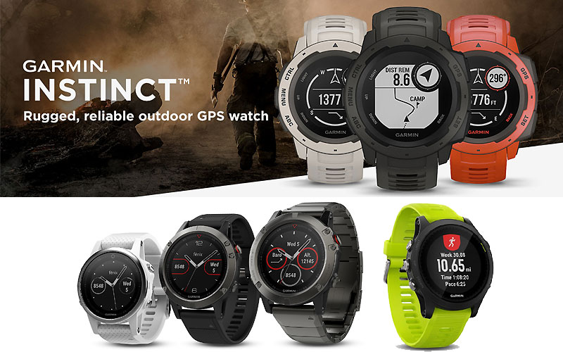 Up to 30% Off Garmin Smart Wearables for Adventurer
