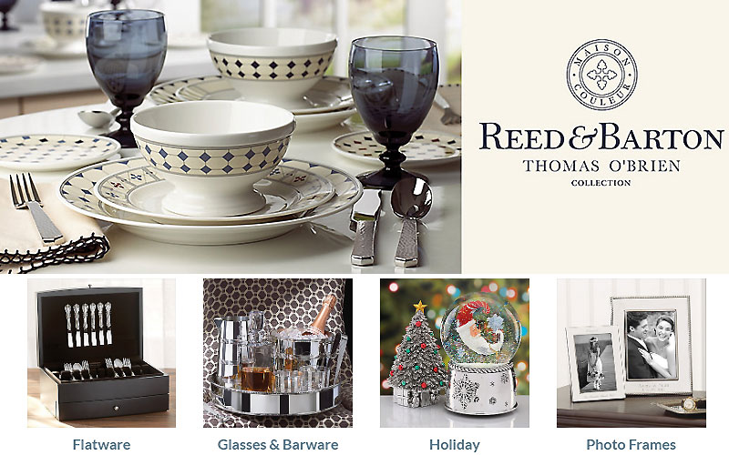 Reed & Barton Flatware & Glasses Starting from $45
