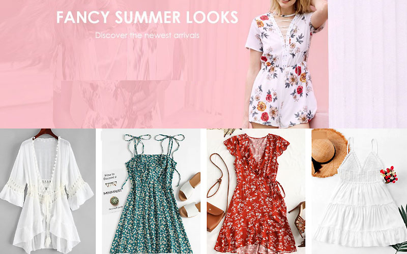Up to 40% Off on Zaful Summer Dresses