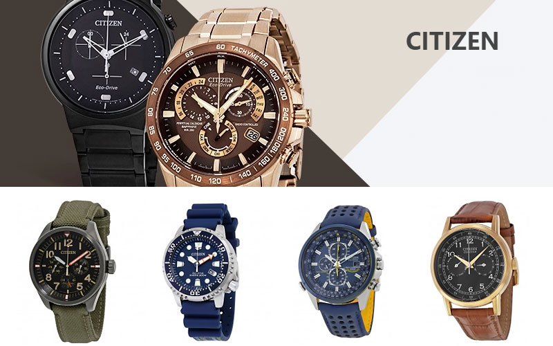 Up to 50% on Citizen Watches for Men