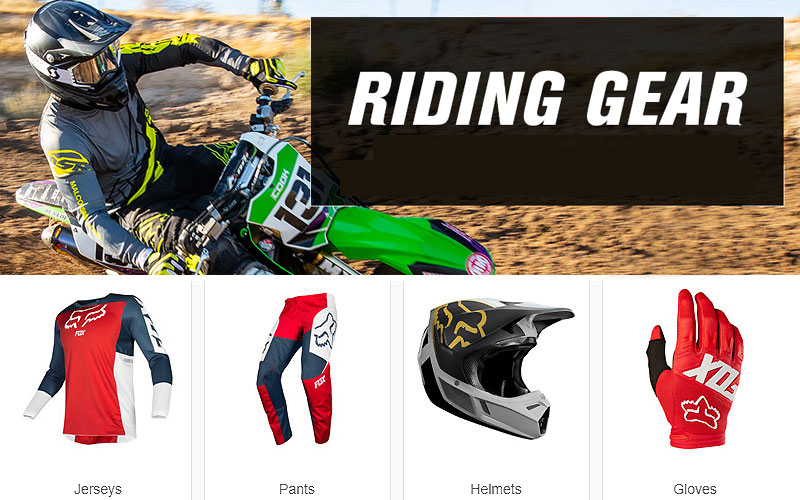 Up to 75% Off on Motocross & Dirt Bike Riding Gear