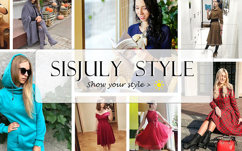 Up to 50% Off on Sisjuly Dresses, Bottoms & More