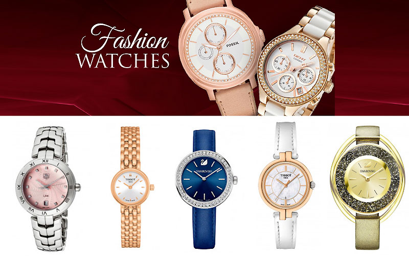 Up to 55% Off on Top Brands Luxury Watches for Women