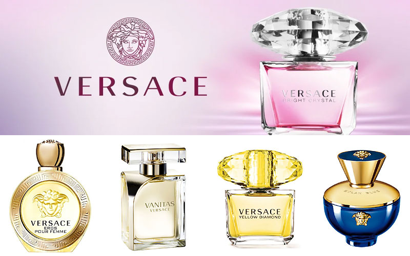 Up to 60% Off on Versace Perfumes For Womens