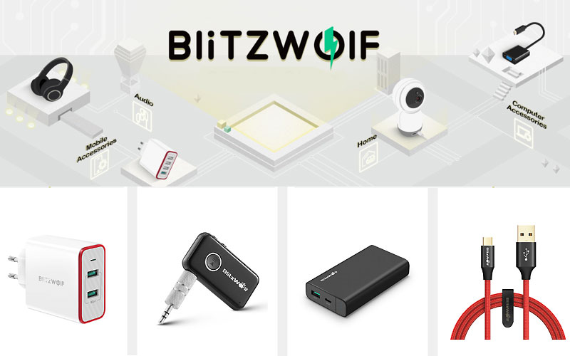 Up to 35% Off on Blitzwolf Electronics, Mobile & Computer Accessories