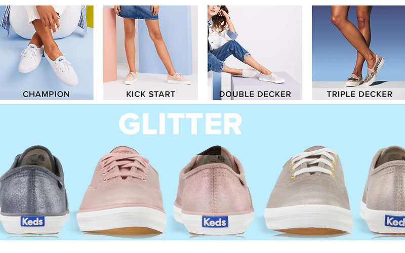 Up to 55% Off on Keds Shoes for Women