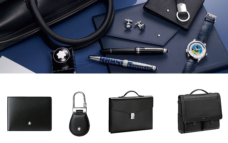Shop Discount Montblanc Wallets, Bags & Accessories