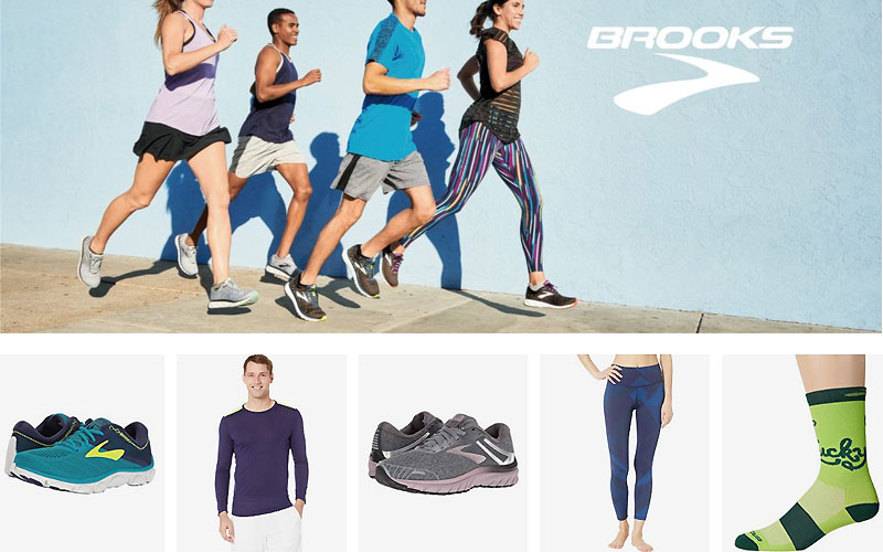 Up to 55% Off on Brooks Clothing & Shoes