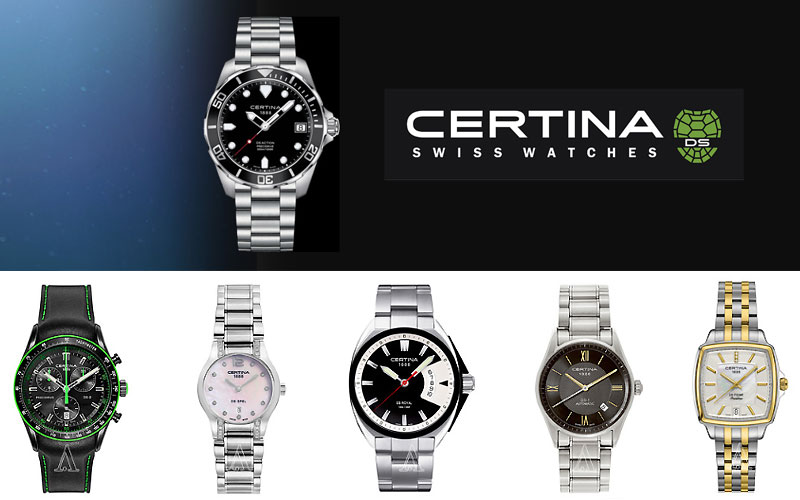 Up to 75% Off on Certina Watches