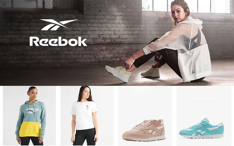 Up to 50% Off on Reebok Women's Clothing & Shoes