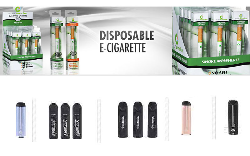 Shop Disposable E-Cigarettes as Low as $1.09 Only