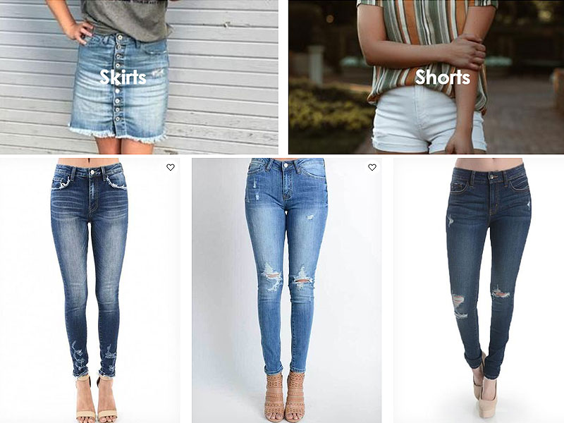 Shop KanCan Jeans, Skirts & Shorts | Starting from $36