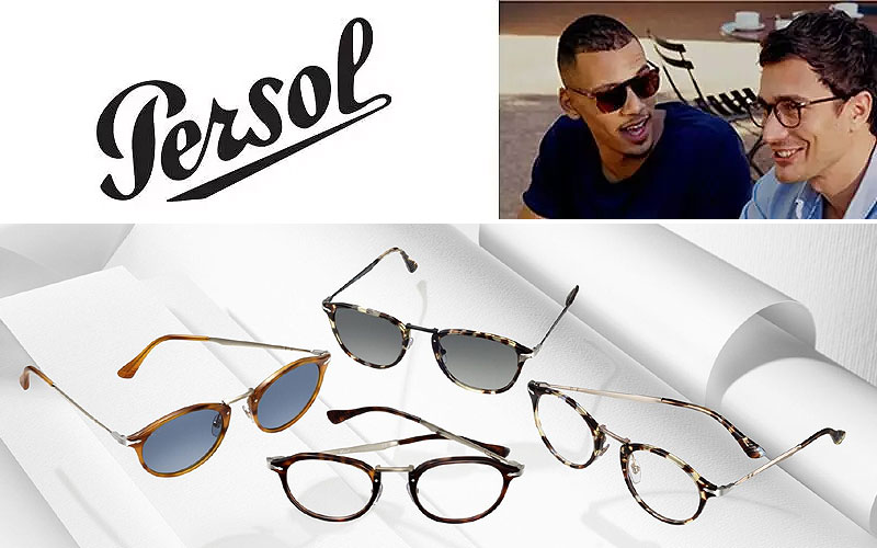 Shop Discount Persol Eyeglasses Starting from $117 Only