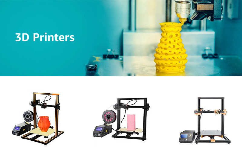 Up to 50% Off on Banggood 3D Printers