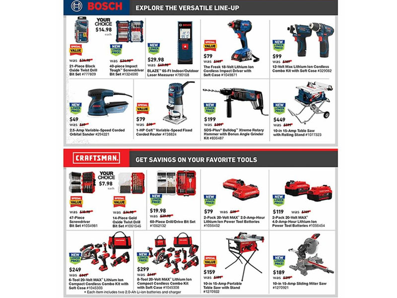 Lowe S Black Friday Ad 2019 Deals Sales Price From
