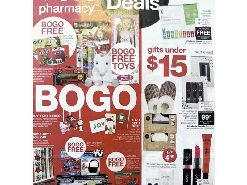 CVS Pharmacy Black Friday Ad 2019