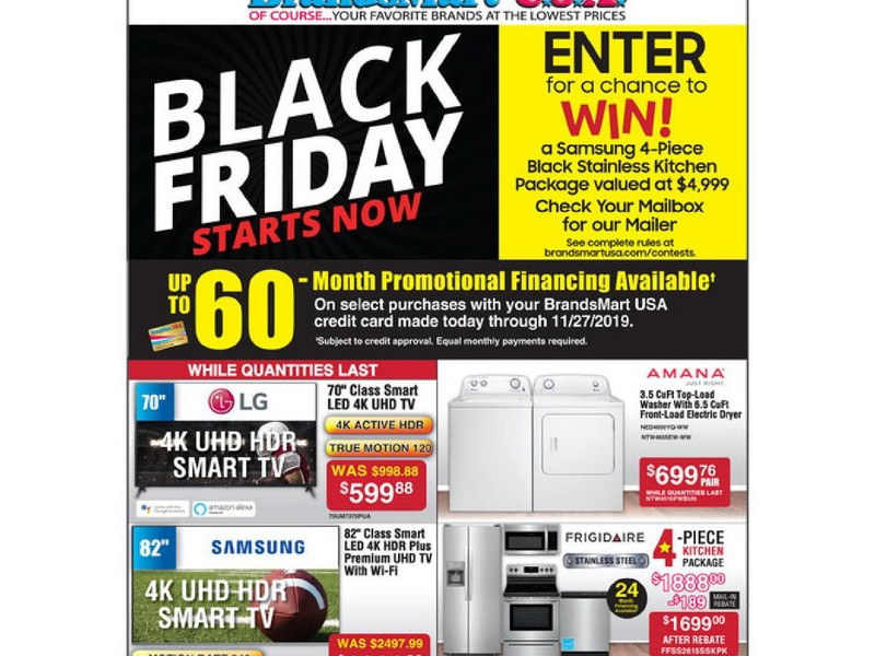 BrandsMart USA Black Friday Ad 2019